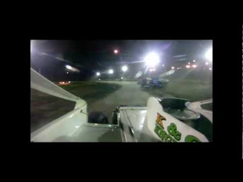 Jack Cook Dirt Modified In Car at Bear Ridge Speedway 5-5-12