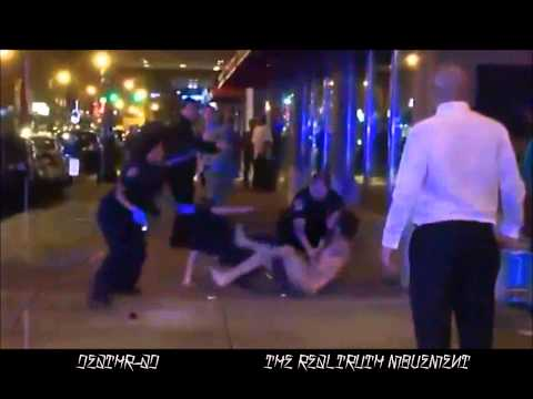 Man is tazed punches cop and escapes nude