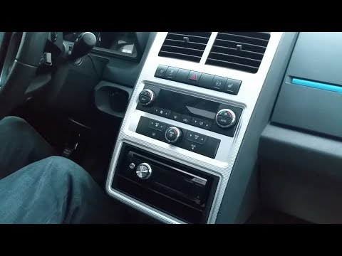 2010 Dodge Journey DEH-X8700BS Install