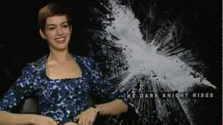 Anne Hathaway Dark Knight Rises interview: Why Catwoman isn't very cat like