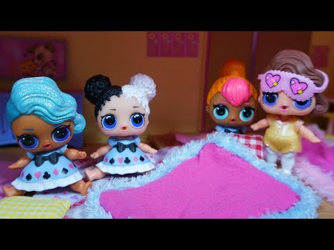 LOL SURPRISE DOLLS Have A Slumber Party With Posh!