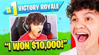 FaZe Jarvis Reacts to Before he was Banned on Fortnite
