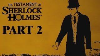 the testament of sherlock holmes [HD720p] Gameplay Walkthrough Part 2 KOREAN SUB 셜록홈즈의 유언 공략 파트 2