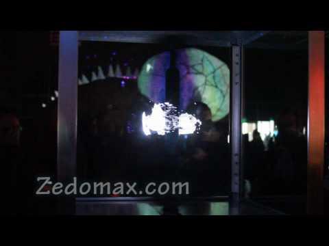 3D LED Display Globe at Maker Faire 2010!