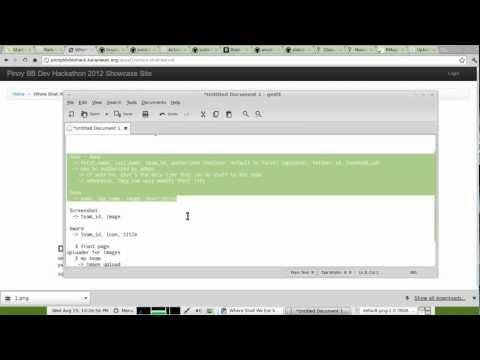 Trial run for WebGeek DevCup 2012