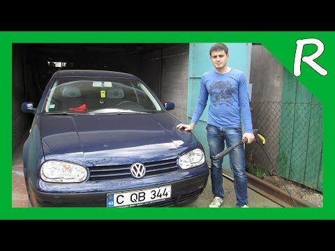 VW Golf 4 мойка аппаратом Karcher K 3.500