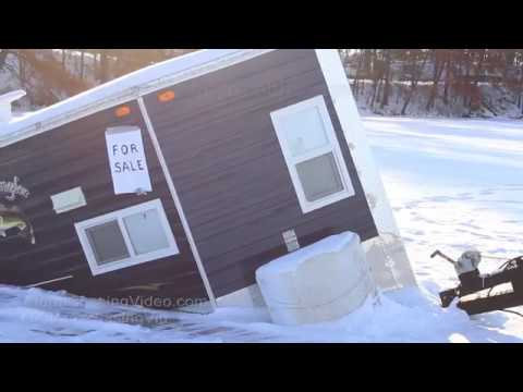 Ice Is Never 100% Safe, Ice House Recovery - Poskin, WI 1/2/2018
