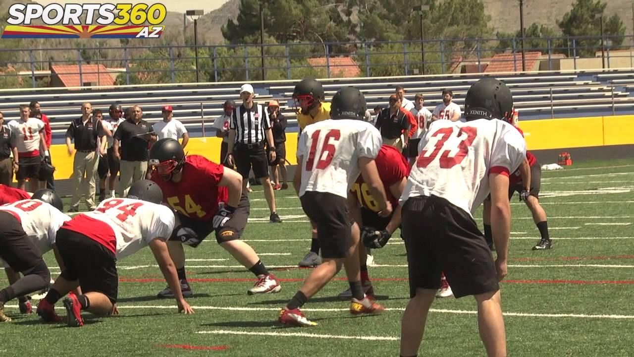 Arizona Christian University Football >> Arizona Christian Turns Up The Heat In First Ever Spring Football Game