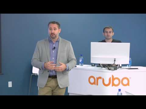 Aruba Network Services in the Cloud