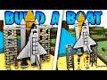 Build a Boat WORKING ROCKET SHIP!!! (NASA Space station)