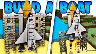 Video Build a Boat WORKING ROCKET SHIP!!! (NASA Space station) download MP3, 3GP, MP4, WEBM, AVI, FLV September 2018