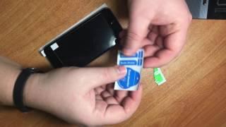 Поклейка 3D защитного стекла на iphone 6 iphone 6s