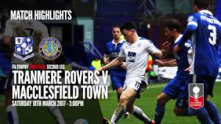 YOUTUBE HIGHLIGHTS: Tranmere Rovers vs Macclesfield Town