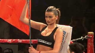 BEST RING CARD GIRLS in boxing - MMA - kickboxing UFC highlights of match - amateur video