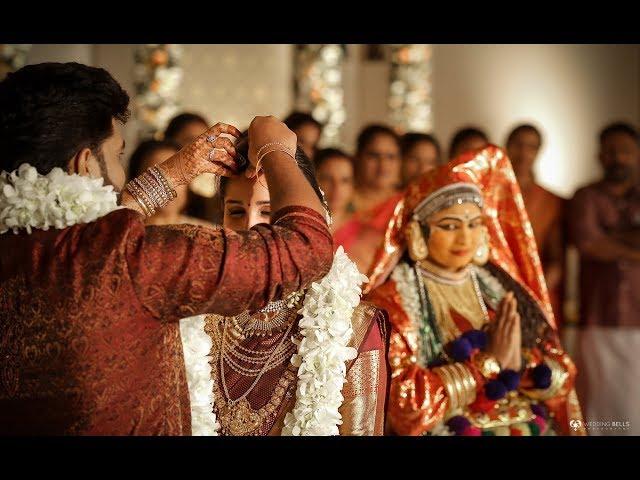 Kerala best haldi hindu wedding highlights Manu & Priya