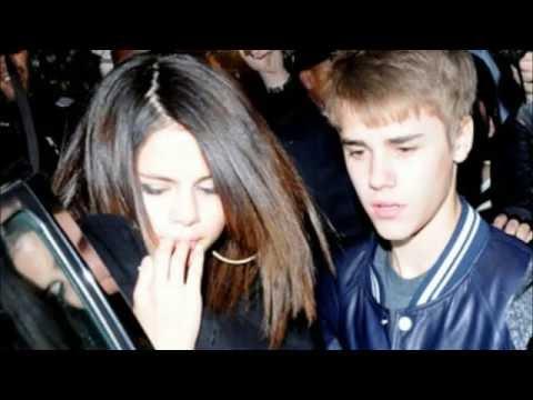 Justin & Selena   She don't like the lights