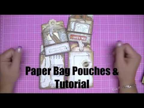 Paper Bag Pouches & Tutorial