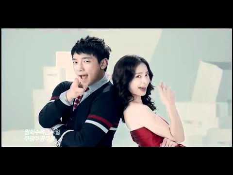[Rain (Bi) CF 2]111105 Rain & Kim Tae Hee Singing and dancing in Coupang CF