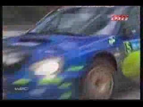 2005 WRC World Rally Championship Highlights