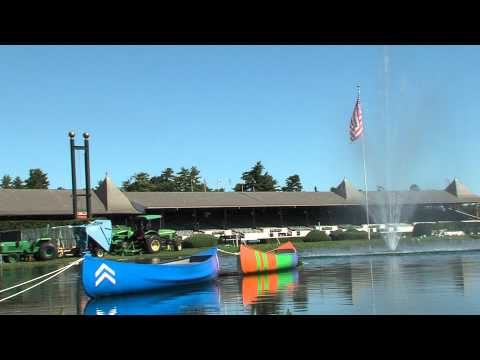 Saratoga All Access: Historic Launch of Two Canoes to Mark Dead Heat in Travers