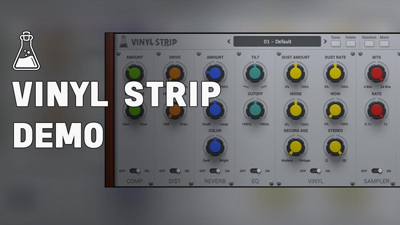 Vinyl Strip - Modular ChannelStrip VST/AU/AXX Plugin - AudioThing