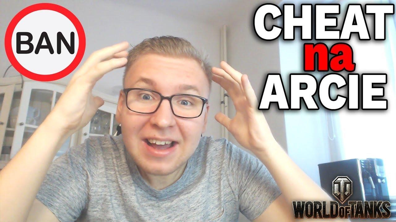 CHEATER NA ARCIE – OVERWATCH W WOT
