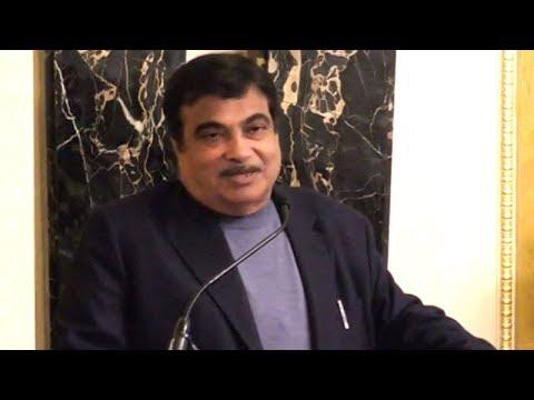 Nitin Gadkari highlights efforts undertaken for rejuvenation of Ganga in London