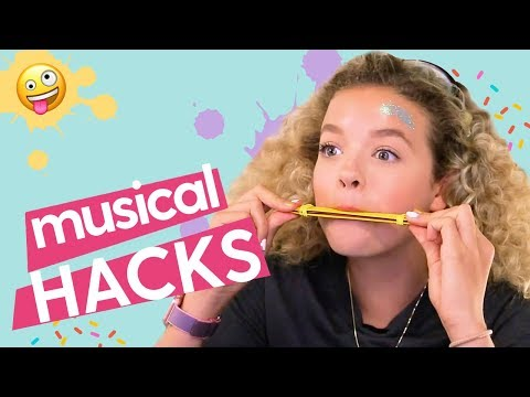 DIY Musical Instruments: DIY Harmonica and DIY Xylophone | GoldieBlox