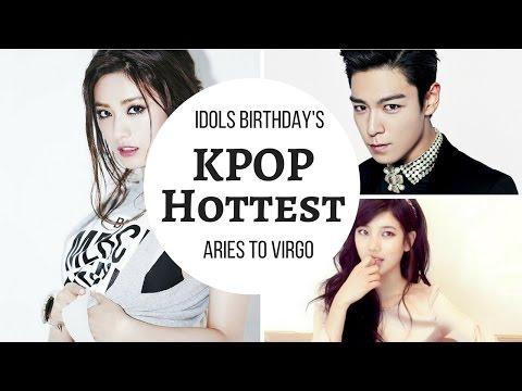 [60] Most beautiful kpop 2017 Astrology Sign | Beautiful kpop idols |Handsome Kpop Idols|Girls Group