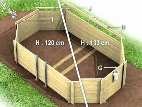 Piscina de madera gama prestige parte 1 piscinas for Costo para construir una piscina