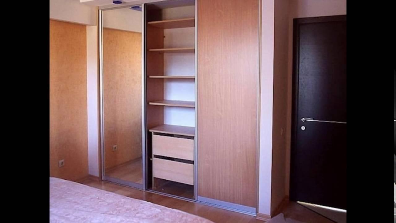 Встроенный шкаф купе своими руками из гипсокартона фото 483