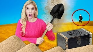 Finding TREASURE CHEST Hidden in Sunken City! (Secret Mission in Real Life)