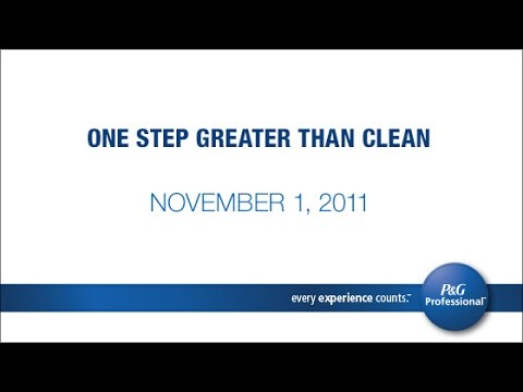 One Step Greater Than Clean: The Proper Techniques and Tools for Effective Cleaning and Disinfecting