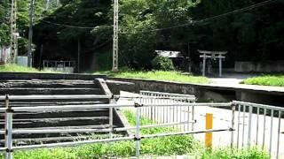 近鉄奈良線 孔舎衛坂駅跡