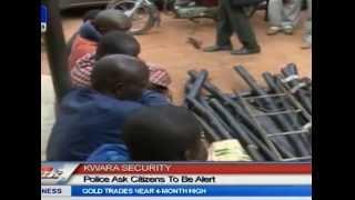 Kwara Police Parade Nitel Cable Thieves, Kidnappers