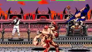 Mortal Kombat 2 - Kitana (Sega Genesis) (By Sting)