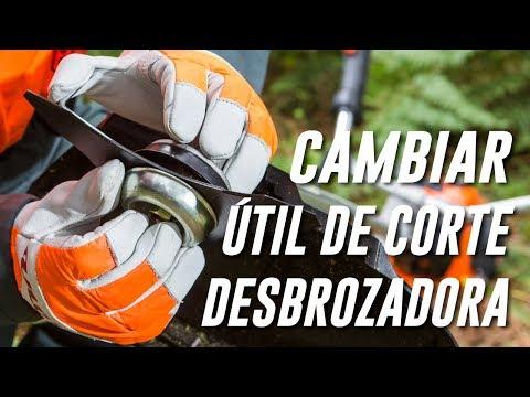 Cómo Cambiar El Disco De La Desbrozadora thumbnail