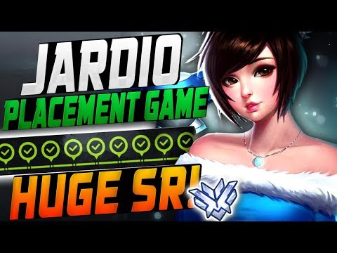 JARDIO FINAL PLACEMENT GAME! MAX SR?! [ OVERWATCH SEASON 11 TOP 500 ] thumbnail