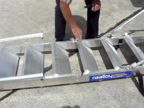 Portable Aircraft Stairs Youtube