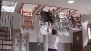 Чердачная лестница Oman Nozycowe(Краткий обзор чердачной лестницы Oman Nozycowe. Подробнее на сайте www.trikirpicha.com (Три кирпича - поиск строительных..., 2014-04-15T08:46:37.000Z)