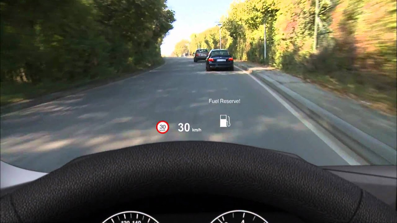 bmw 6 series head up display check control youtube. Black Bedroom Furniture Sets. Home Design Ideas