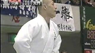 穴井隆将 柔道団体戦4人抜き anai judo