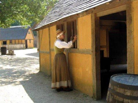 Jamestown Va. Fort and settlement