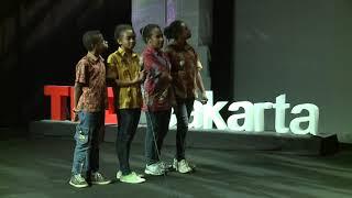 Hebatnya Anak Papua Tedx