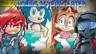 [COMIC DUB] Mobius 30 Years Later Part 1  (Sonic The Hedgehog)