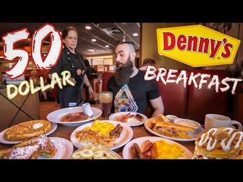 The Denny's 50 Dollar Breakfast Challenge | The Chronicles Of Beard Ep.66