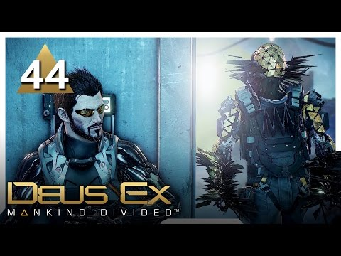 Let's Play Deus Ex: Mankind Divided Part 44 - G.A.R.M. [Stealth/Non-lethal PC Gameplay]