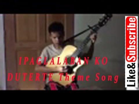 IPAGLALABAN KO (TUNAY NA PAGBABAGO)| Duterte Theme Song | Blind Man Cover