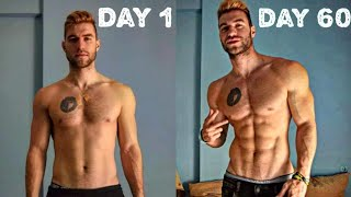 INSANE 60 DAYS BODY TRANSFORMATION!