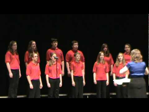 "Morton Junior High School Limited Edition performing ""How Can I Stop Singing My Song"""